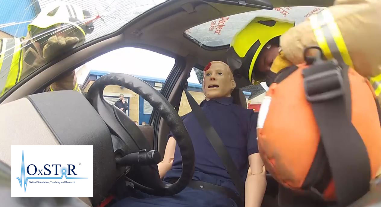 NHS OxSTar - Traffic Accident training video