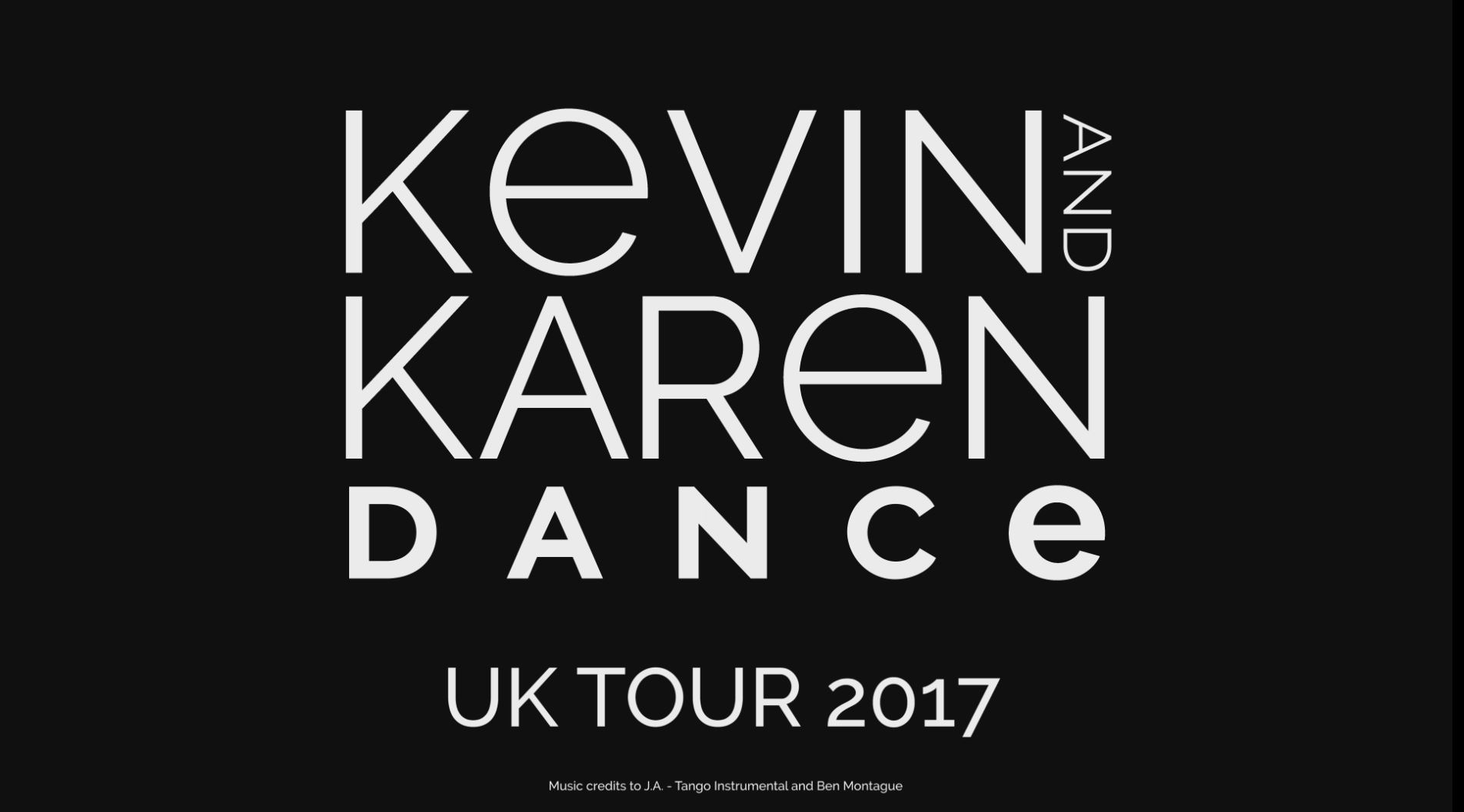 Kevin & Karen UK Tour